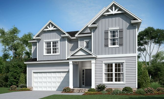 Weston Exterior A (will include side entry garage)
