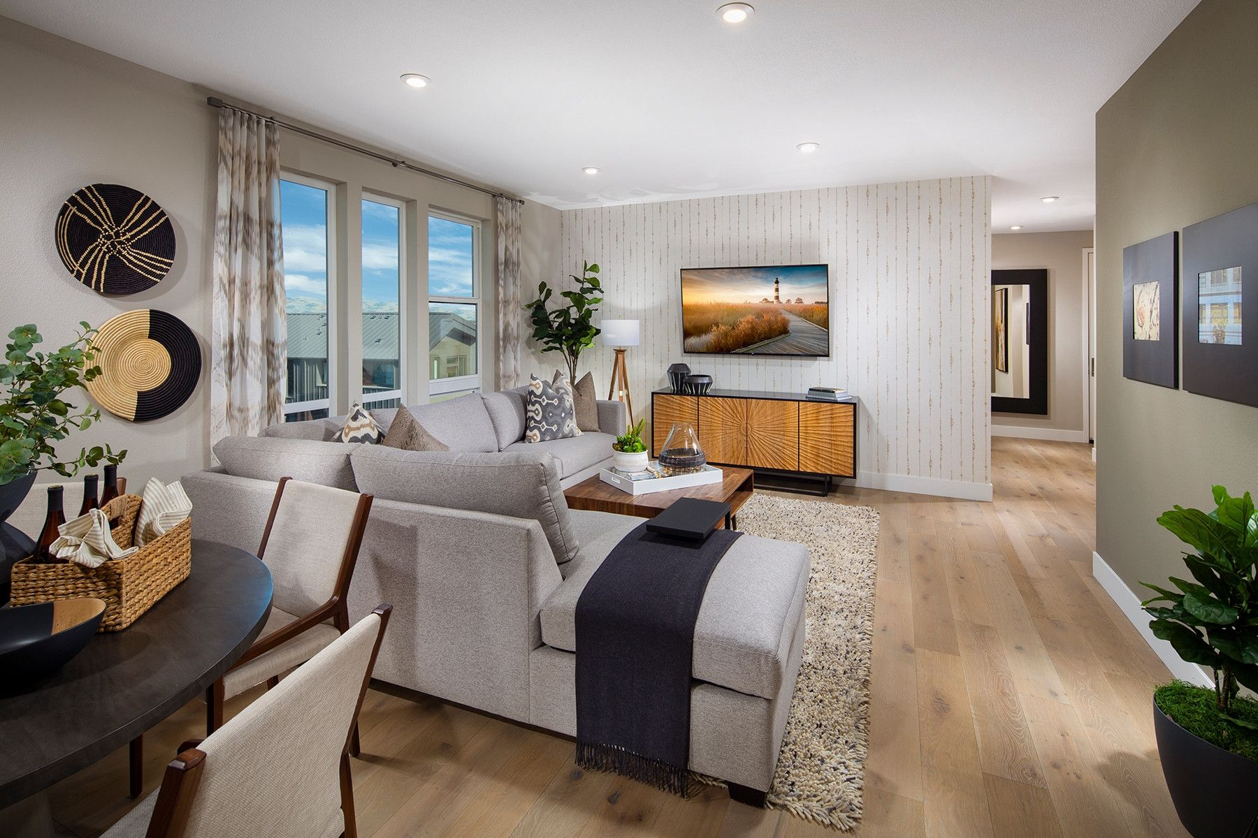 Living Area featured in the Plan 4 By Shea Homes in Oakland-Alameda, CA