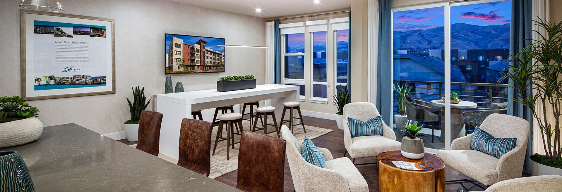 Living Area featured in the Plan 1 By Shea Homes in Oakland-Alameda, CA