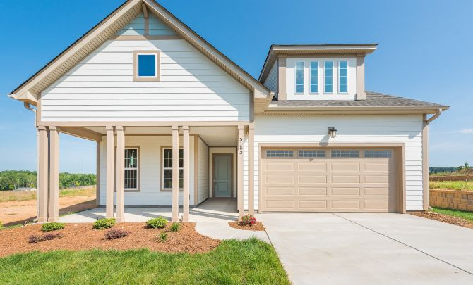 Trilogy Lake Norman Quick Move-In Home Graham with:Exterior