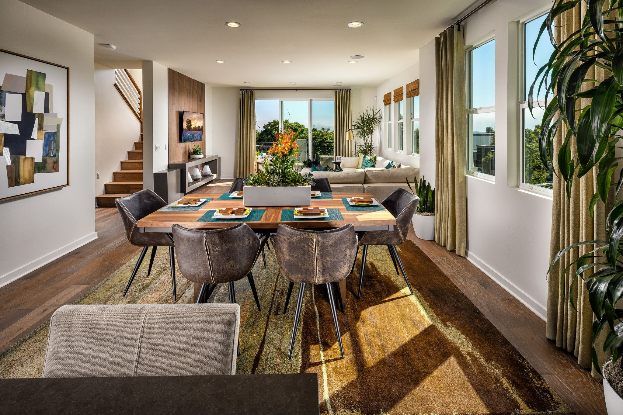 Living Area featured in the Plan 3 By Shea Homes in San Diego, CA