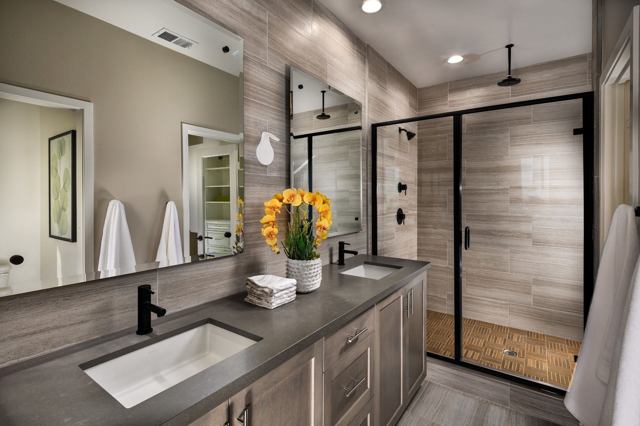 Bathroom featured in the Plan 3 By Shea Homes in San Diego, CA