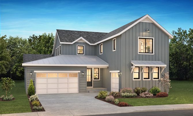 Solstice Trails Edge Tallgrass Exterior A:Exterior A: Modern Farmhouse