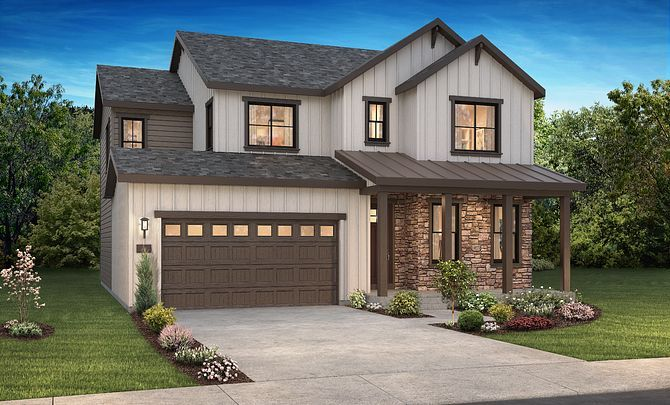 Exterior featured in the 4052 Twilight By Shea Homes in Denver, CO