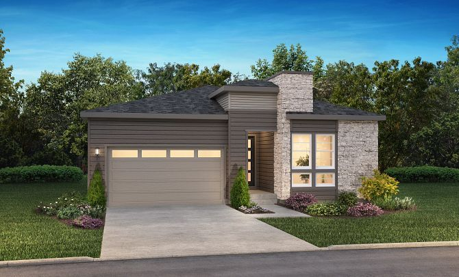 Canyons Reserve Traditions Exterior C:Exterior C: Modern Prairie