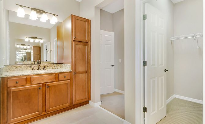 Bathroom featured in the Aria By Shea Homes - Trilogy in Ocala, FL