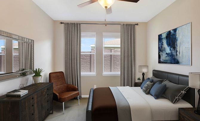 Bedroom featured in the Aria By Shea Homes - Trilogy in Ocala, FL