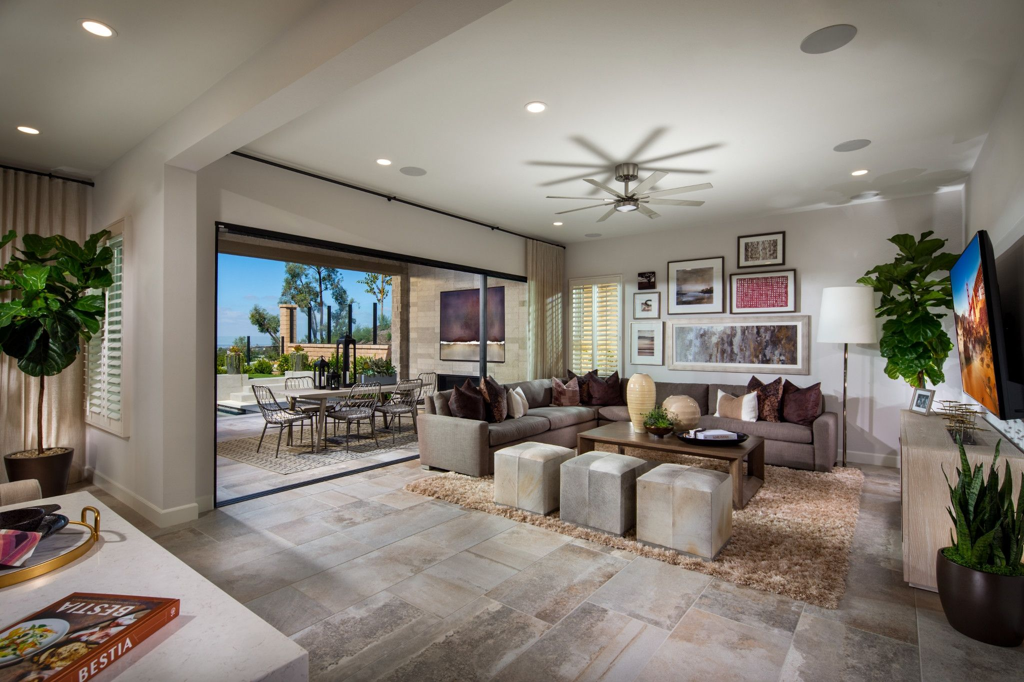 Living Area featured in the Plan 2 By Shea Homes in Orange County, CA