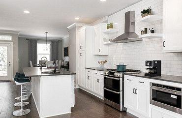 Brooklyn plan kitchen:Brooklyn # 7
