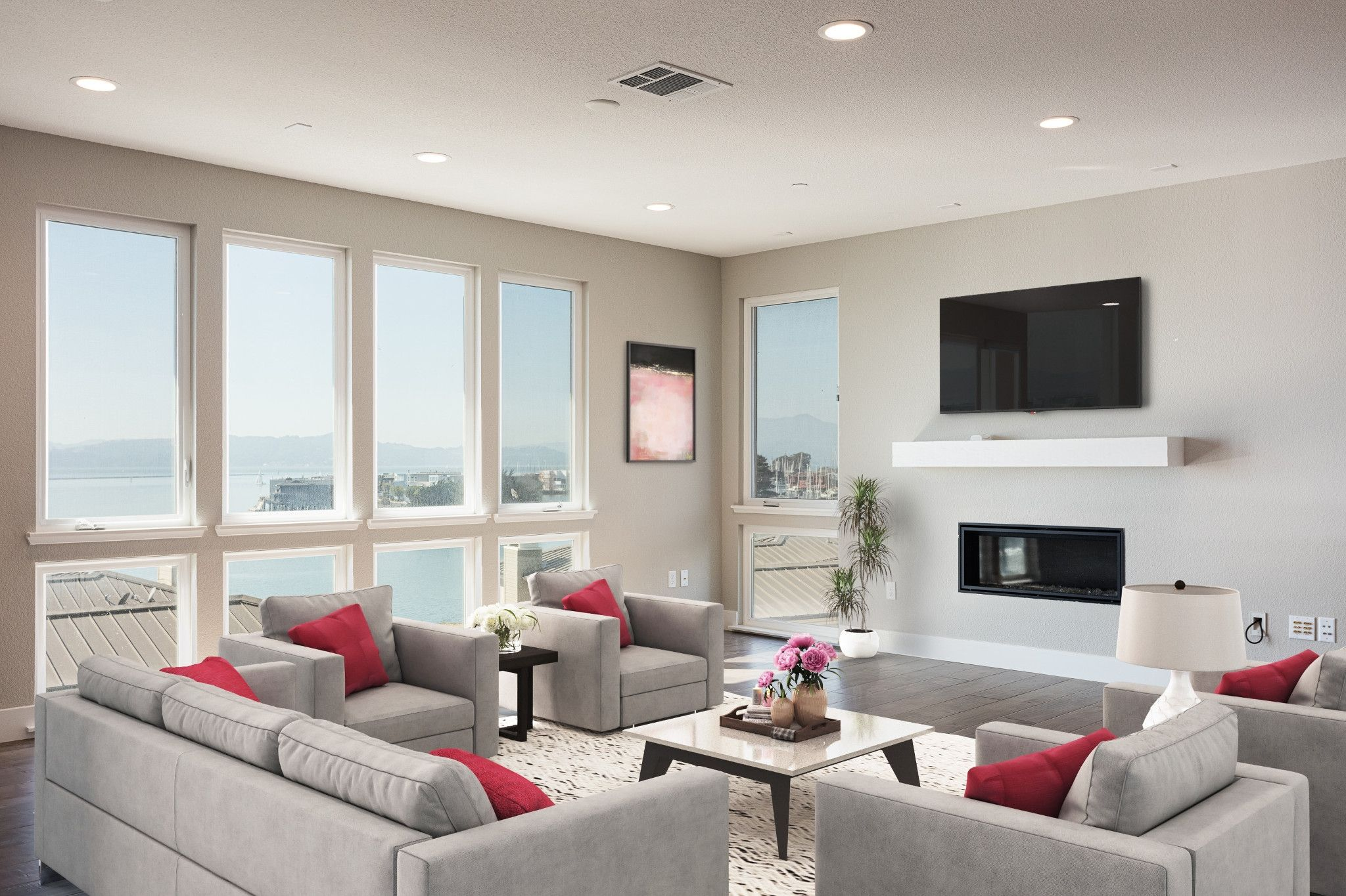 Living Area featured in the Plan 4E By Shea Homes in Oakland-Alameda, CA