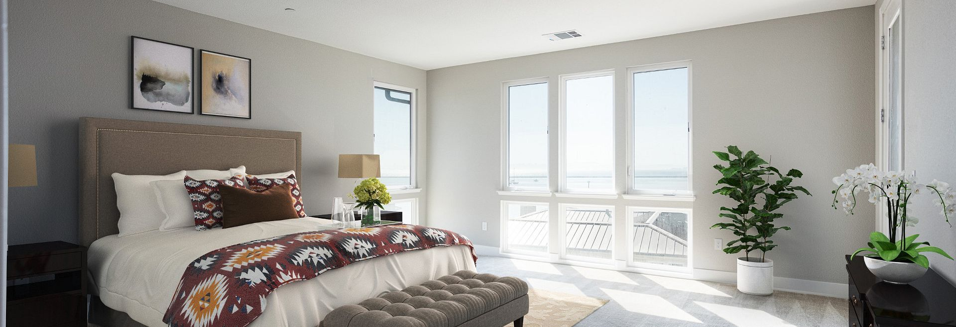 Bedroom featured in the Plan 4E By Shea Homes in Oakland-Alameda, CA
