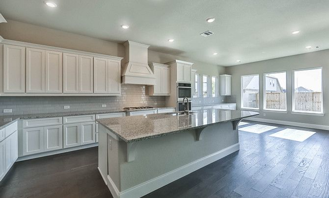 Kitchen featured in the Plan 6020 By Shea Homes in Houston, TX