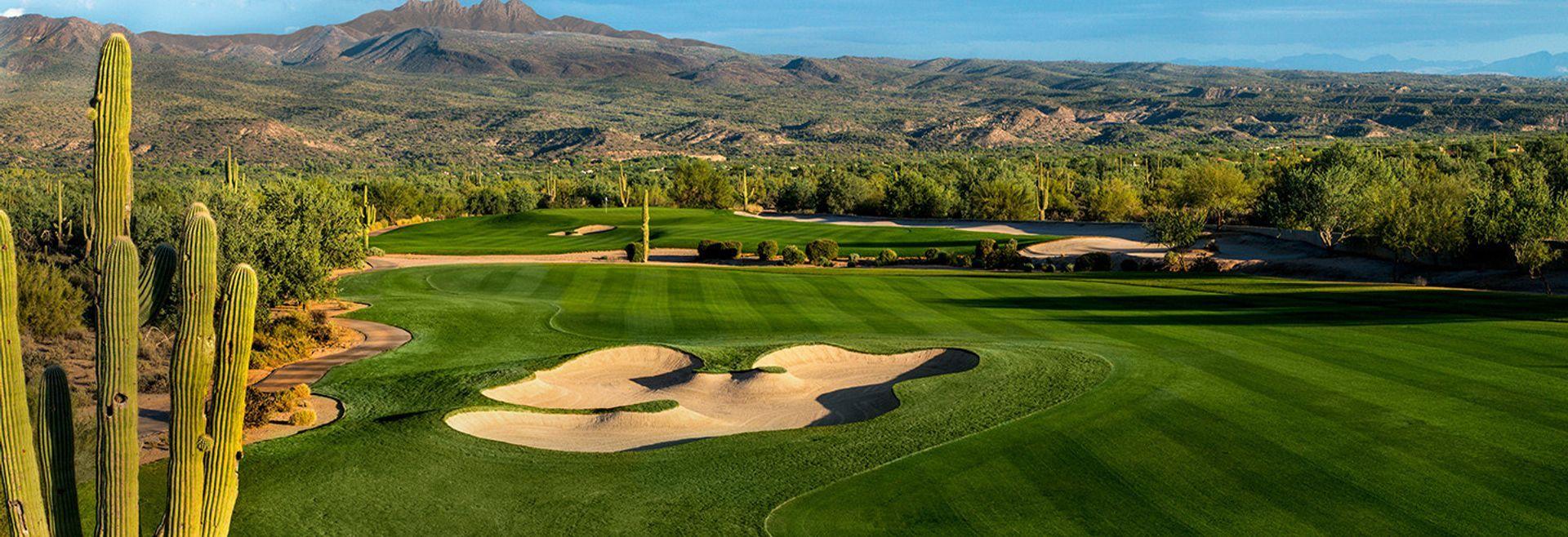 Golf Course at 55+ community Trilogy Verde River:Verde River Golf Course