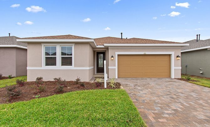Exterior featured in the Declare By Shea Homes - Trilogy in Orlando, FL