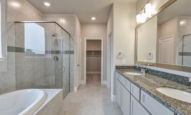 Bathroom featured in the Plan 4069 By Shea Homes in Houston, TX