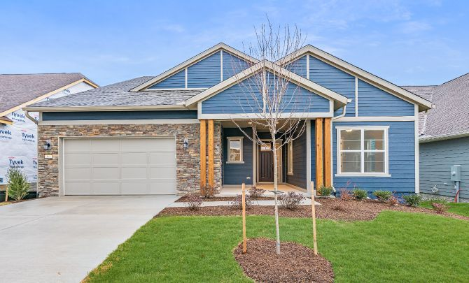 Trilogy at Lake Frederick Quick Move In Home Evoke:Exterior