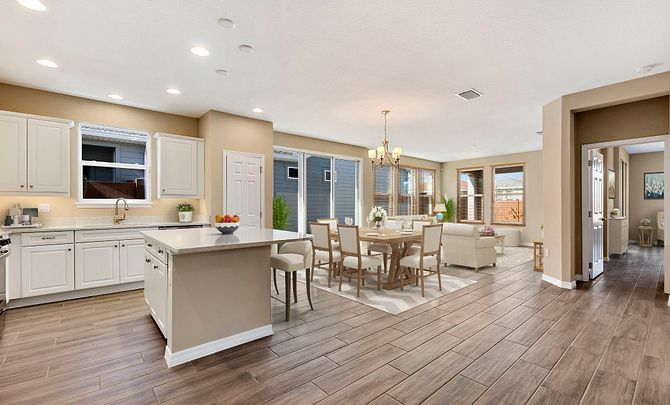 Living Area featured in the Capri By Shea Homes - Trilogy in Orlando, FL