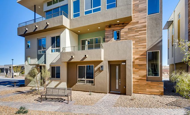 Exterior featured in the Apex By Shea Homes - Trilogy in Las Vegas, NV
