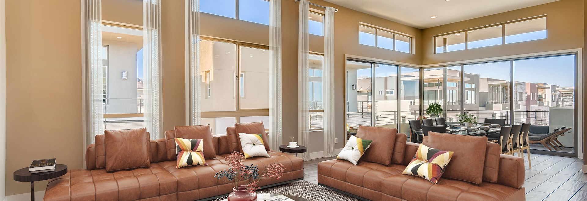 Living Area featured in the Apex By Shea Homes - Trilogy in Las Vegas, NV