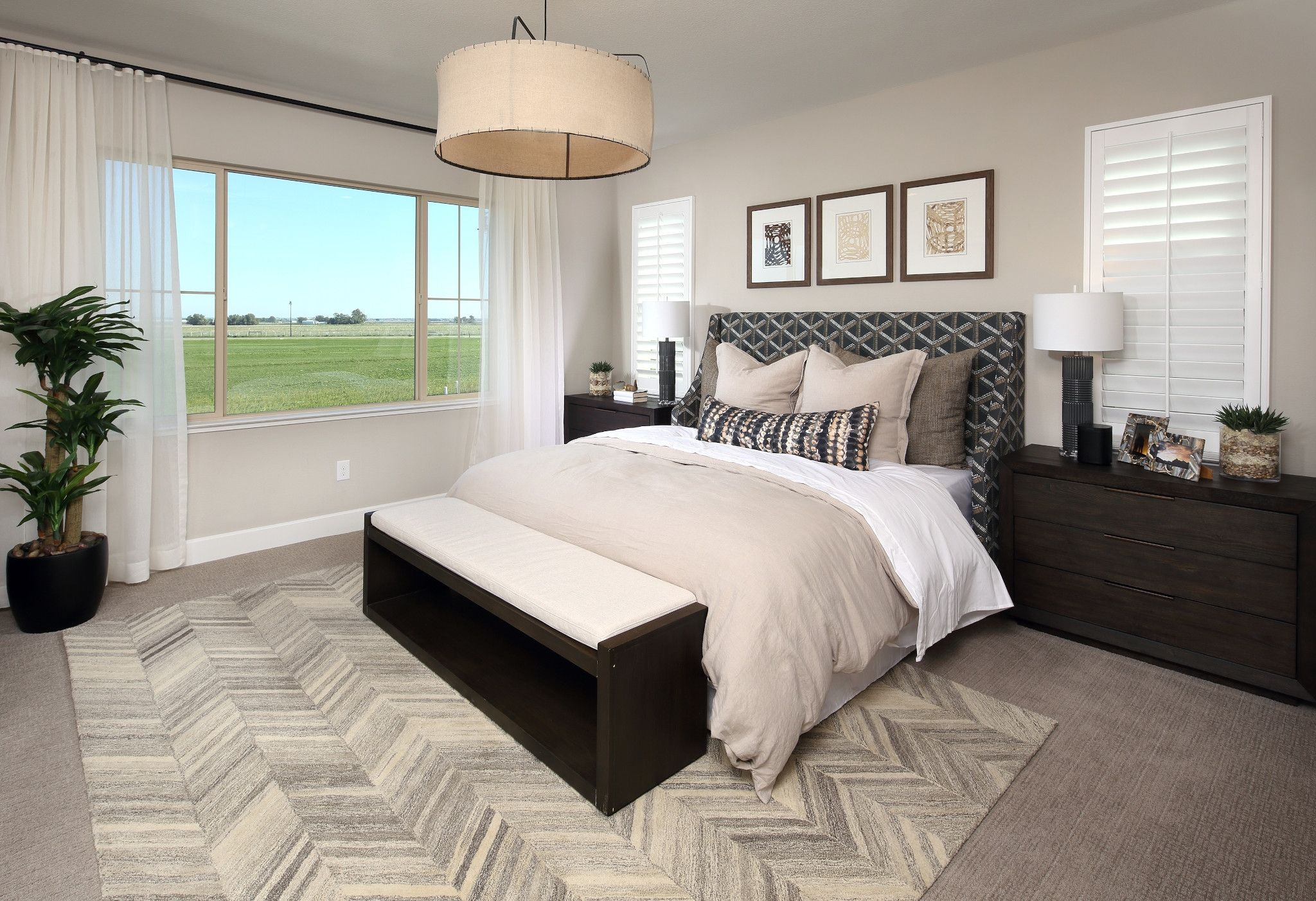 Bedroom featured in the Plan 3 By Shea Homes in Stockton-Lodi, CA