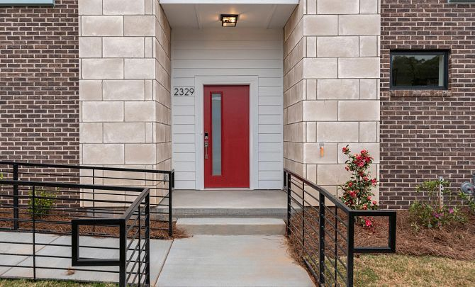 Exterior featured in the Tribeca By Shea Homes in Charlotte, NC