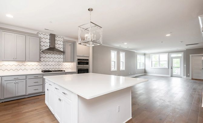 Kitchen featured in the Tribeca By Shea Homes in Charlotte, NC