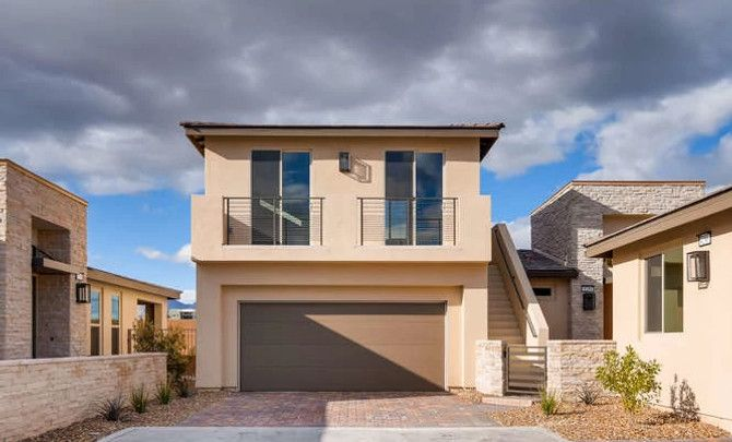 Exterior featured in the Explore By Shea Homes - Trilogy in Las Vegas, NV