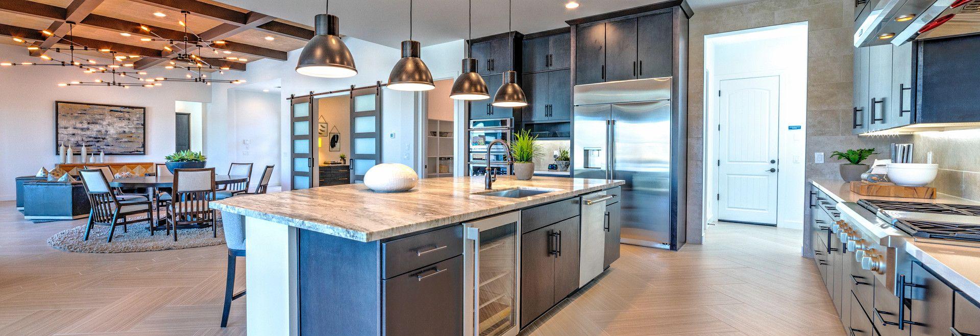 Residence 3 Model Kitchen:Residence 3 Kitchen