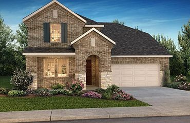 Exterior featured in the Plan 4069 By Shea Homes in Houston, TX