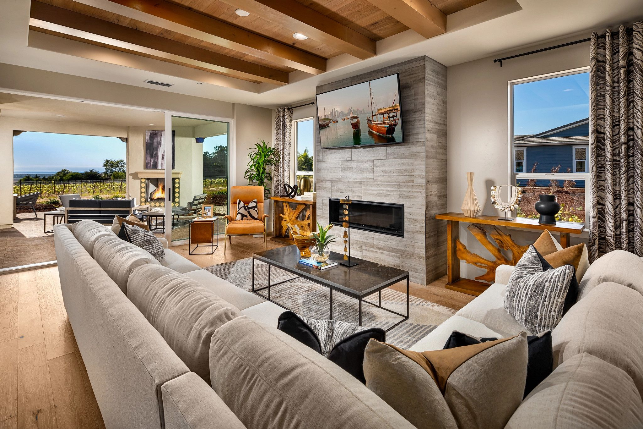 Living Area featured in the Genova By Shea Homes - Trilogy in San Luis Obispo, CA