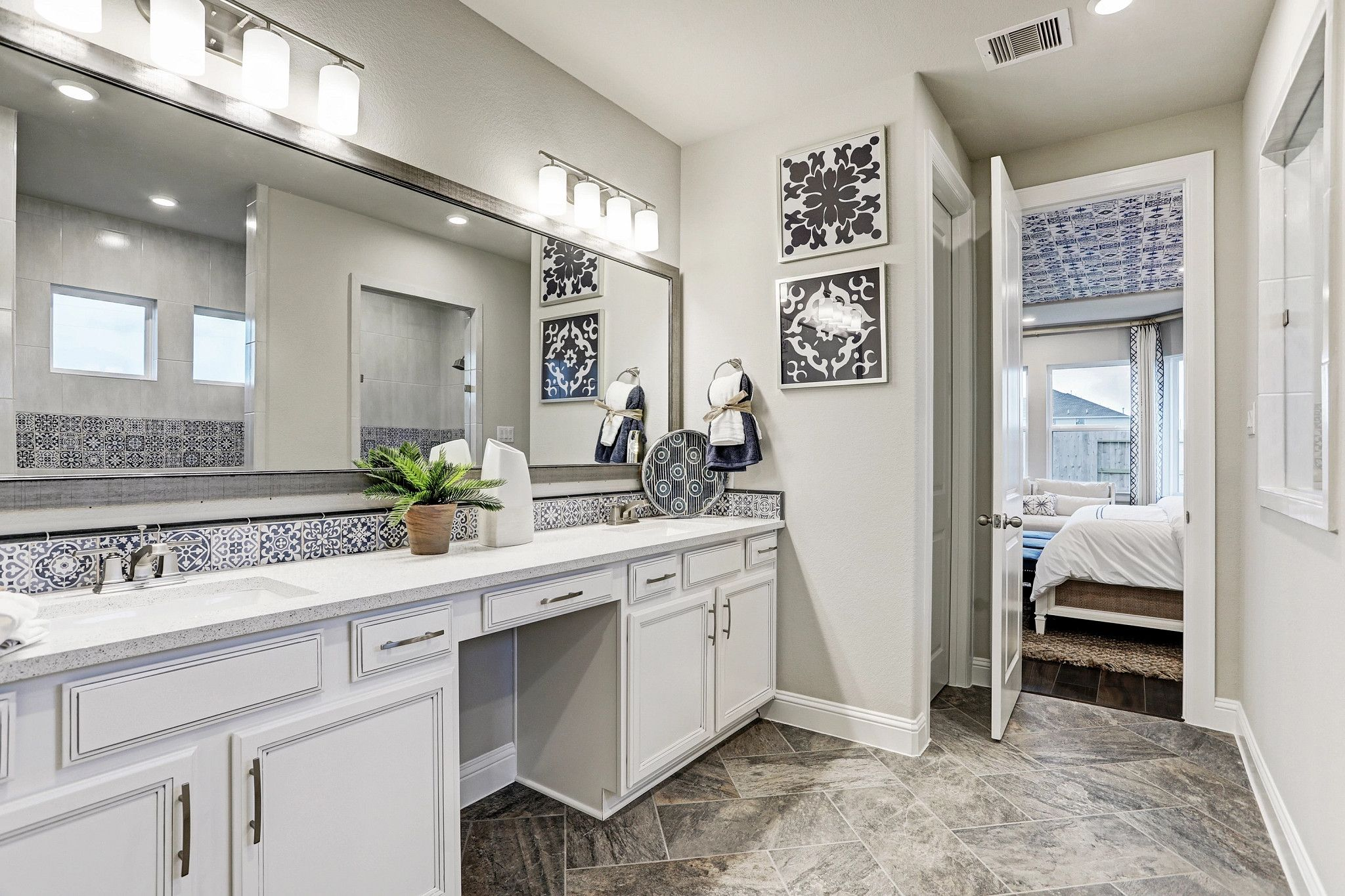 Bathroom featured in the Plan 5029 By Shea Homes in Houston, TX