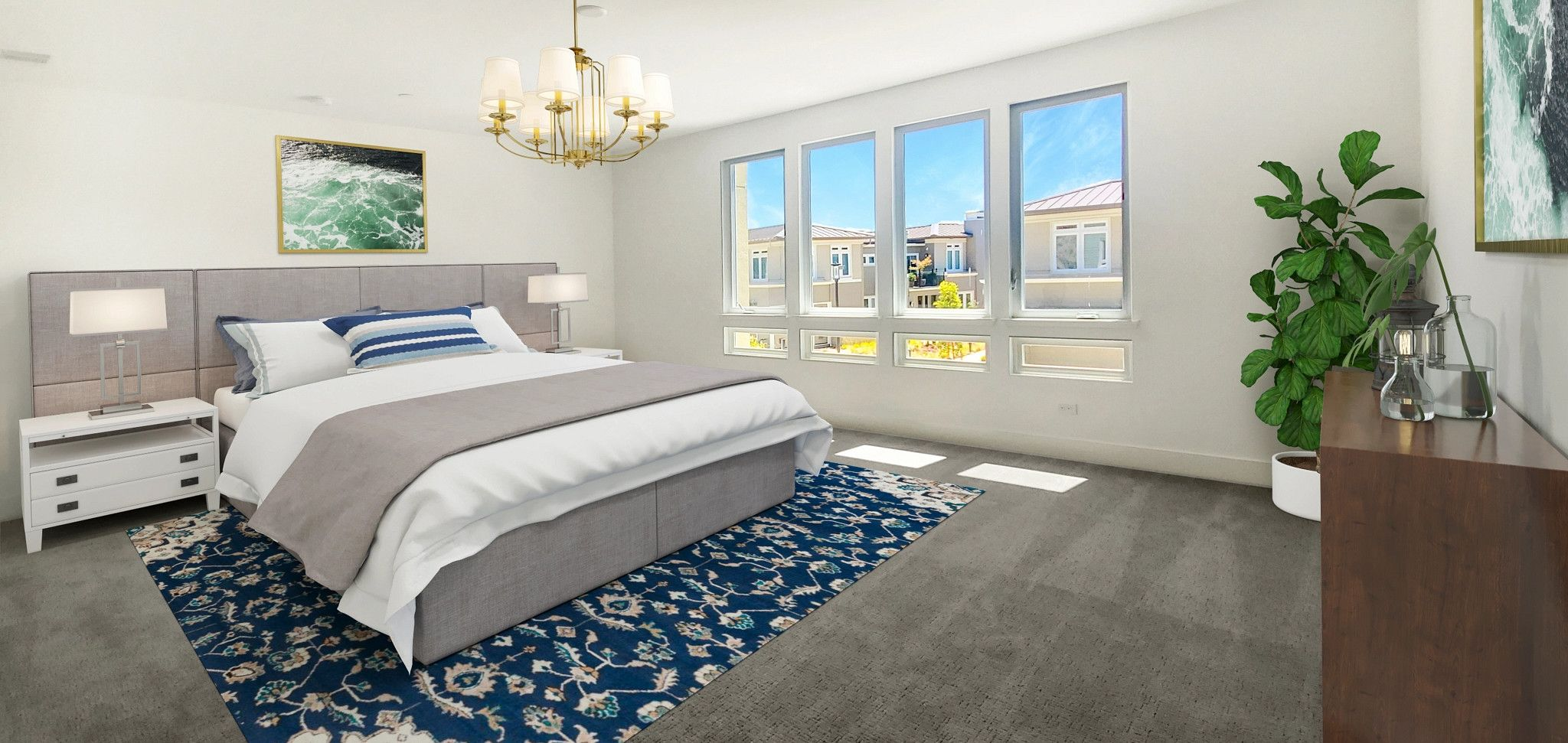 Bedroom featured in the Plan 4A By Shea Homes in Oakland-Alameda, CA