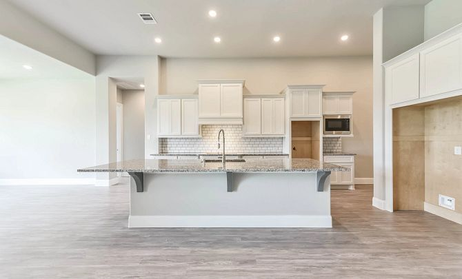 Kitchen featured in the Plan 6015 By Shea Homes in Houston, TX