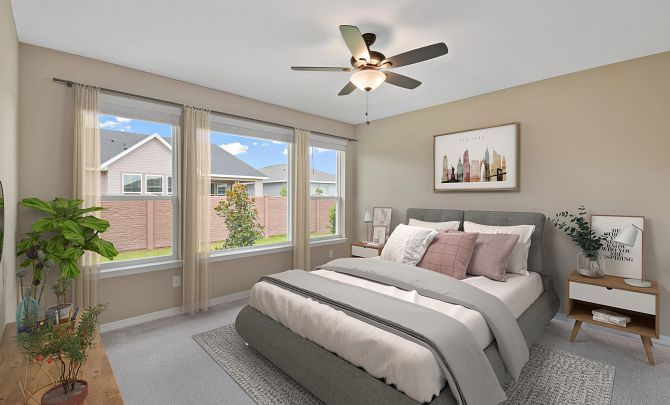Bedroom featured in the Monaco By Shea Homes - Trilogy in Ocala, FL
