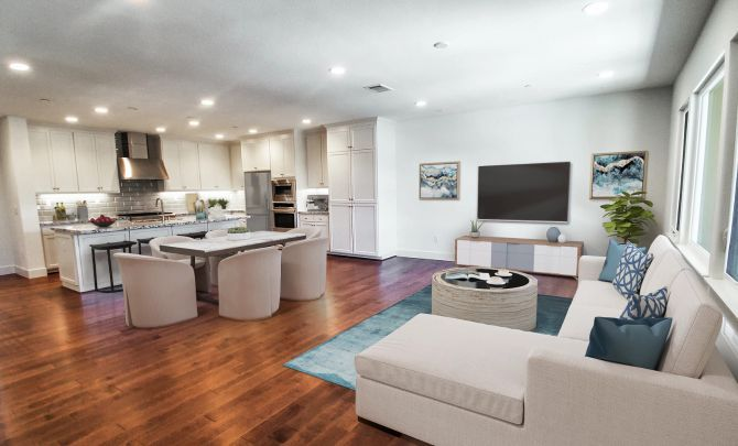 Living Area featured in the Plan 4F By Shea Homes in Oakland-Alameda, CA
