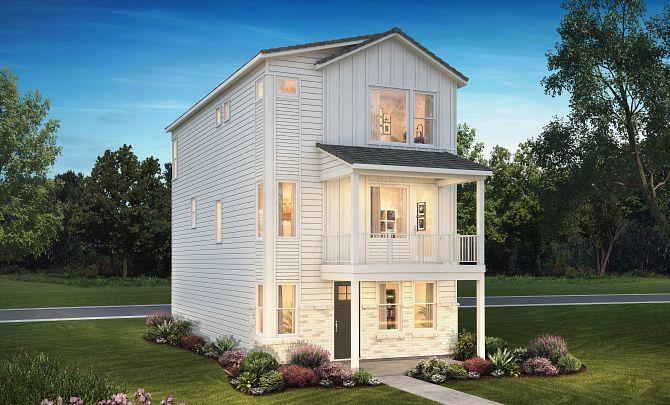 Crescendo Stepping Stone Plan 2202 Exterior B:Exterior B: Modern Farmhouse