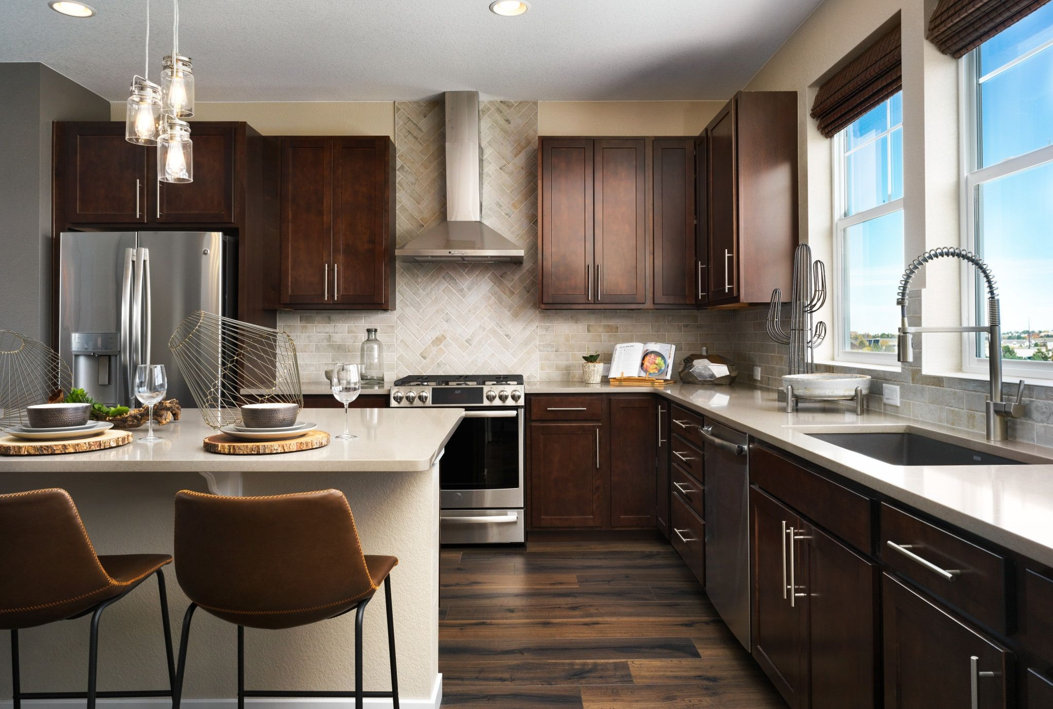 Kitchen featured in the Plan 2201 By Shea Homes in Denver, CO