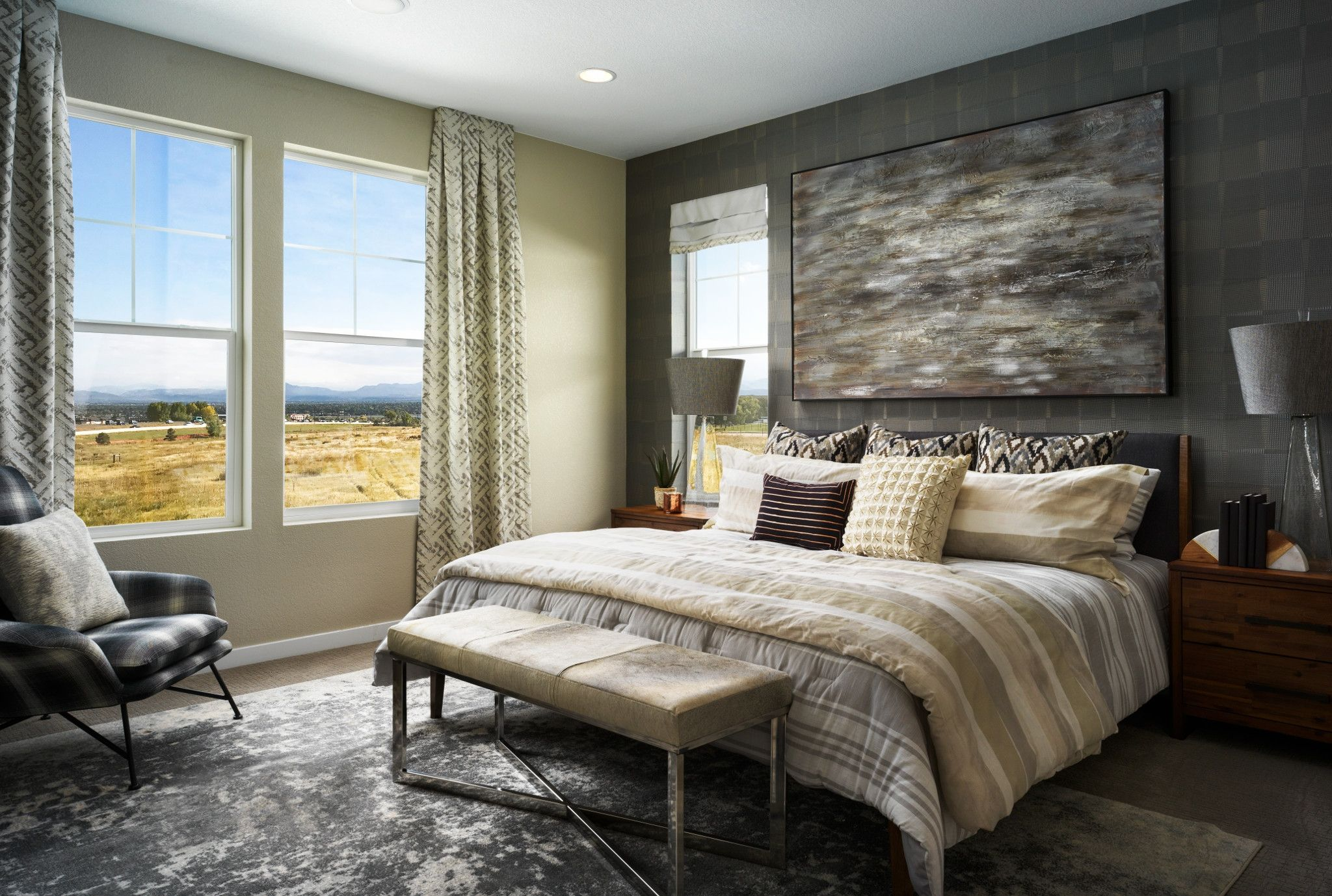 Bedroom featured in the Plan 2201 By Shea Homes in Denver, CO