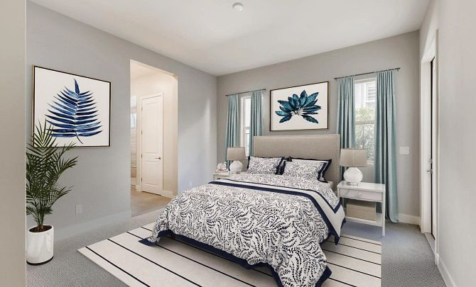 Bedroom featured in the Radiant By Shea Homes - Trilogy in Las Vegas, NV