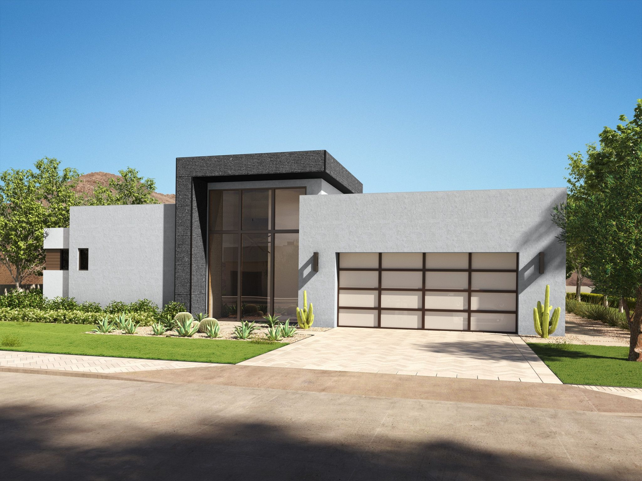 Exterior featured in the Residence 2 By Shea Homes in Phoenix-Mesa, AZ