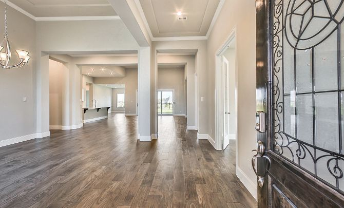Living Area featured in the Plan 6015 By Shea Homes in Houston, TX