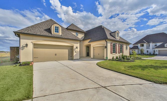 Exterior featured in the Plan 6015 By Shea Homes in Houston, TX