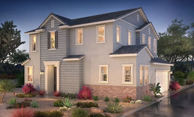 Exterior featured in the Plan 2 By Shea Homes in San Diego, CA