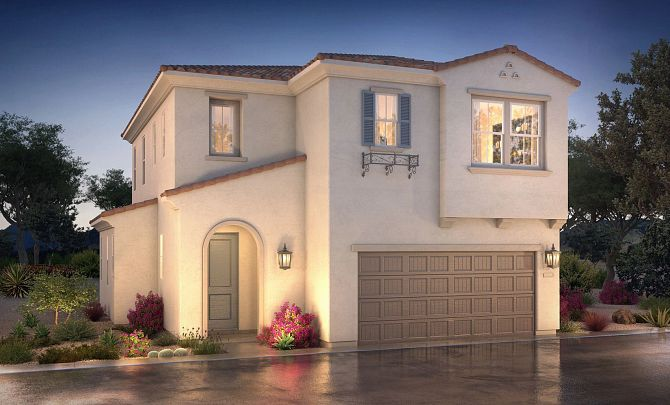 Exterior featured in the Plan 1 By Shea Homes in San Diego, CA