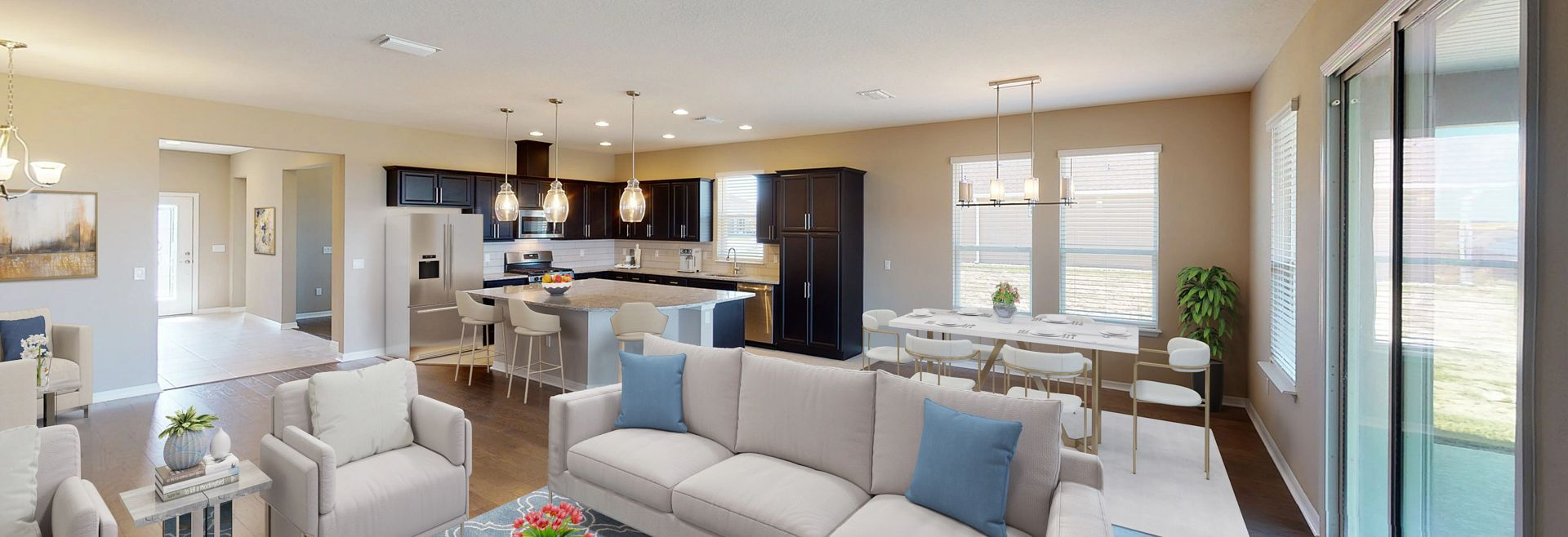 Living Area featured in the Declare By Shea Homes - Trilogy in Orlando, FL