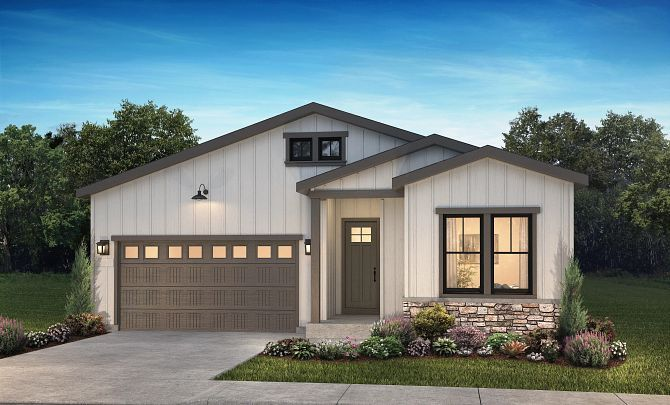 Exterior featured in the 4082 Rising Moon By Shea Homes in Denver, CO