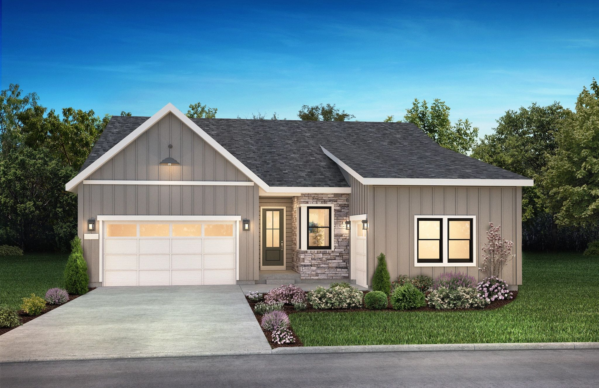 Exterior featured in the 5083 Brookside By Shea Homes in Denver, CO