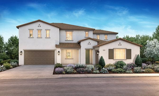 Exterior featured in the Plan 2 By Shea Homes in Stockton-Lodi, CA