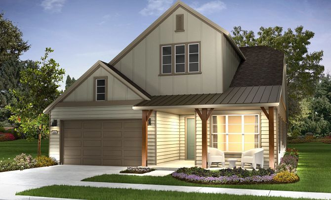 Exterior featured in the Nice By Shea Homes - Trilogy in Washington, VA