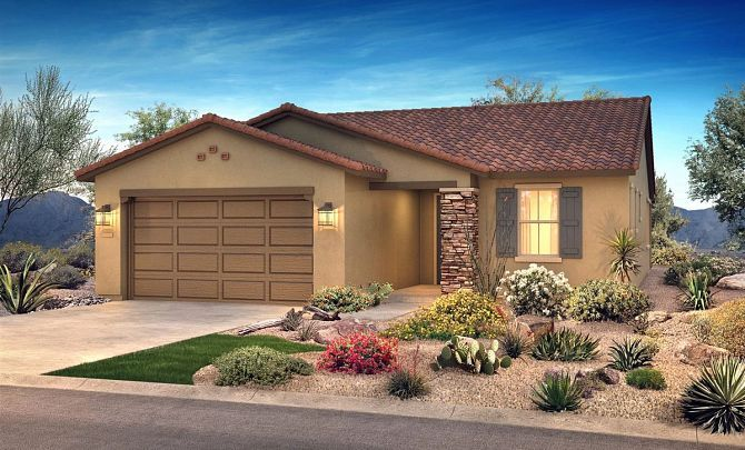 Exterior featured in the Radiant By Shea Homes - Trilogy in Phoenix-Mesa, AZ